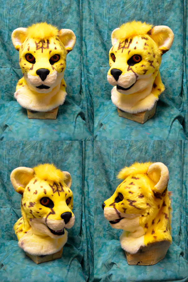 Fulgar the King Cheetah Head by temperance