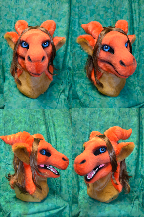 Shallie the Dragon Head by temperance