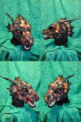 Magma Dragon Head by temperance