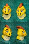Artur the Parasaurolophus head