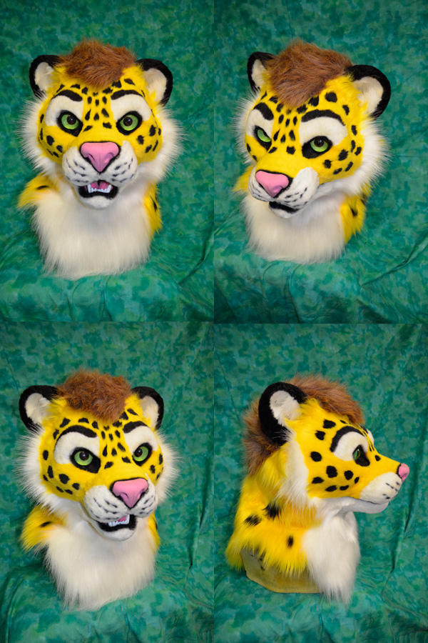 Yellow the Leopard Head 2.0 by temperance