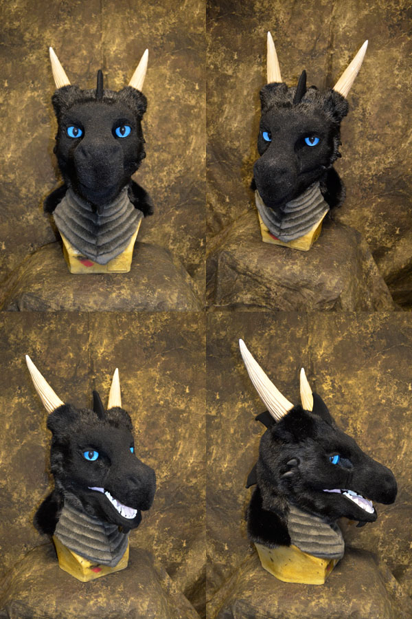 Oarf the Dragon head by temperance