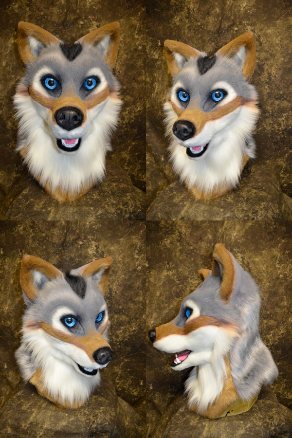 Skid the Wolf Head by temperance