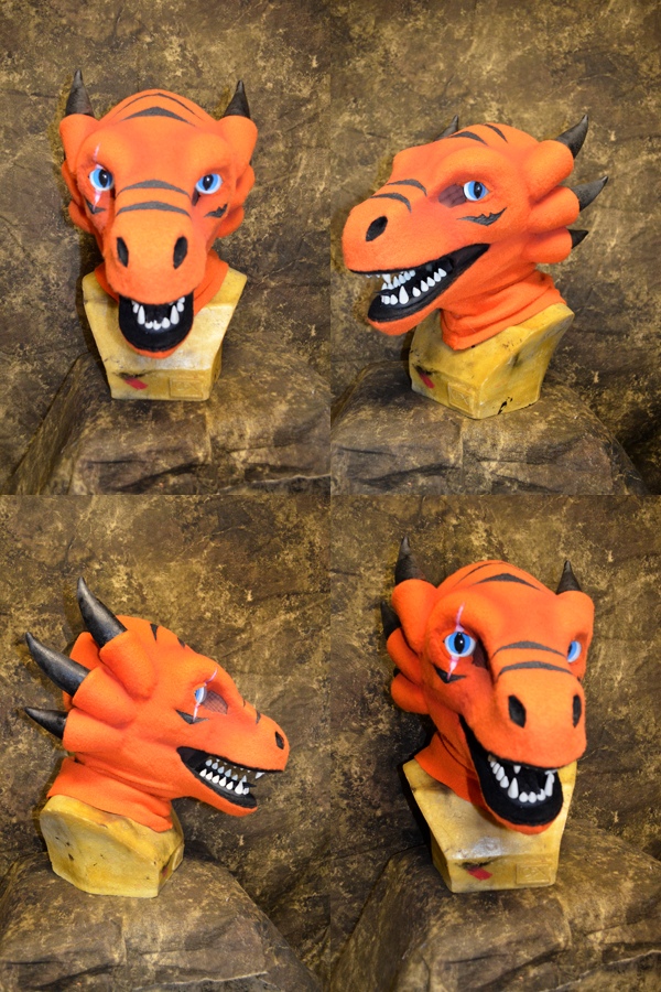Stompychar the dragon head by temperance