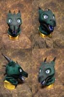 Sergov the Dragon head by temperance