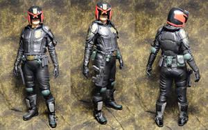 Female Judge - Dredd cosplay by temperance