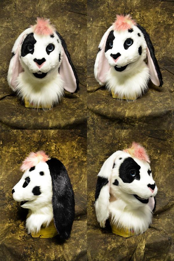 Bunny Bride head by temperance