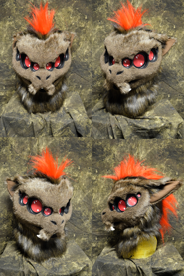 Voice the Wolf Spider head by temperance