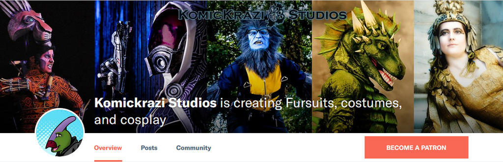 Komickrazi Studios now has a Patreon! by temperance