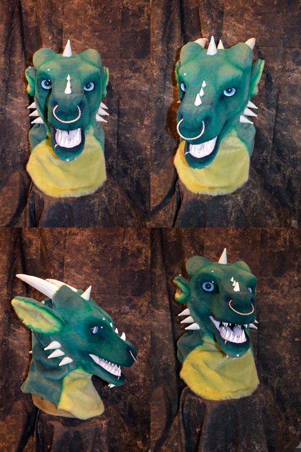 Draco the Dragon Head by temperance