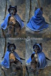 Wolf puppet cape