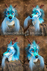 Japanese Dragon partial - Head by temperance
