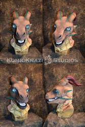 Xia the Dragon Head by temperance