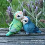 Lovebirds in the Lavender (Sold)