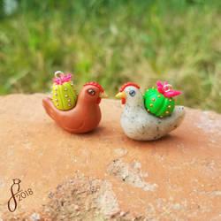 Cactus Chickens