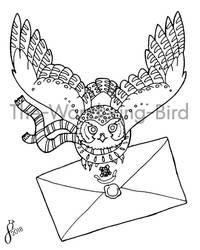 Hogwarts Owl (Free to Color)