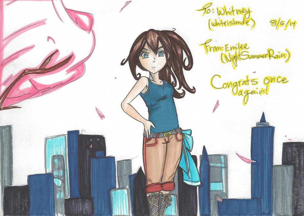.:Contest Prize:. whiteislande by NightSummerRain