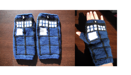 TARDIS Gauntlets by ornate-simplicity