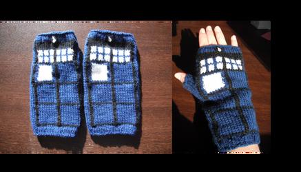 TARDIS Gauntlets