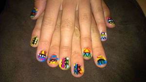 Tribal Nails by ornate-simplicity