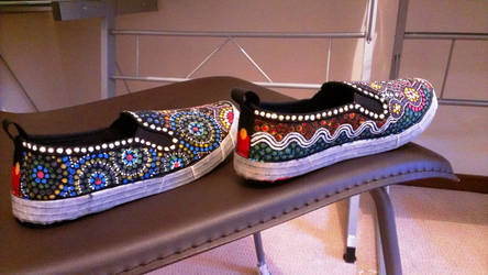 Aboriginal shoes by ornate-simplicity