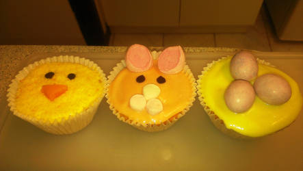 Easter Cupcakes by ornate-simplicity