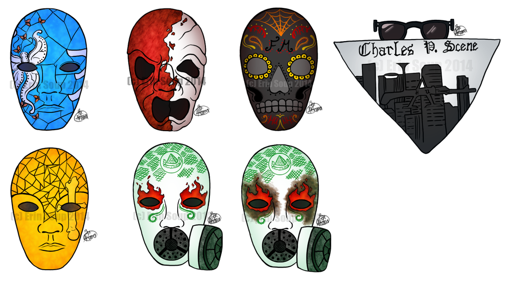Contest: Hollywood Undead Mask Idea by ErinSoup