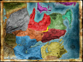 Thedas Map with Nileesa