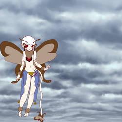 Millie my moth fluttergem by JellybeanGravy