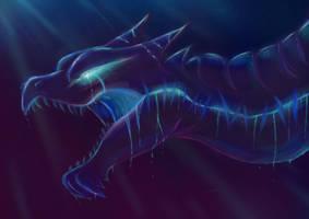 Galaxy Dragon by JennaJinouga