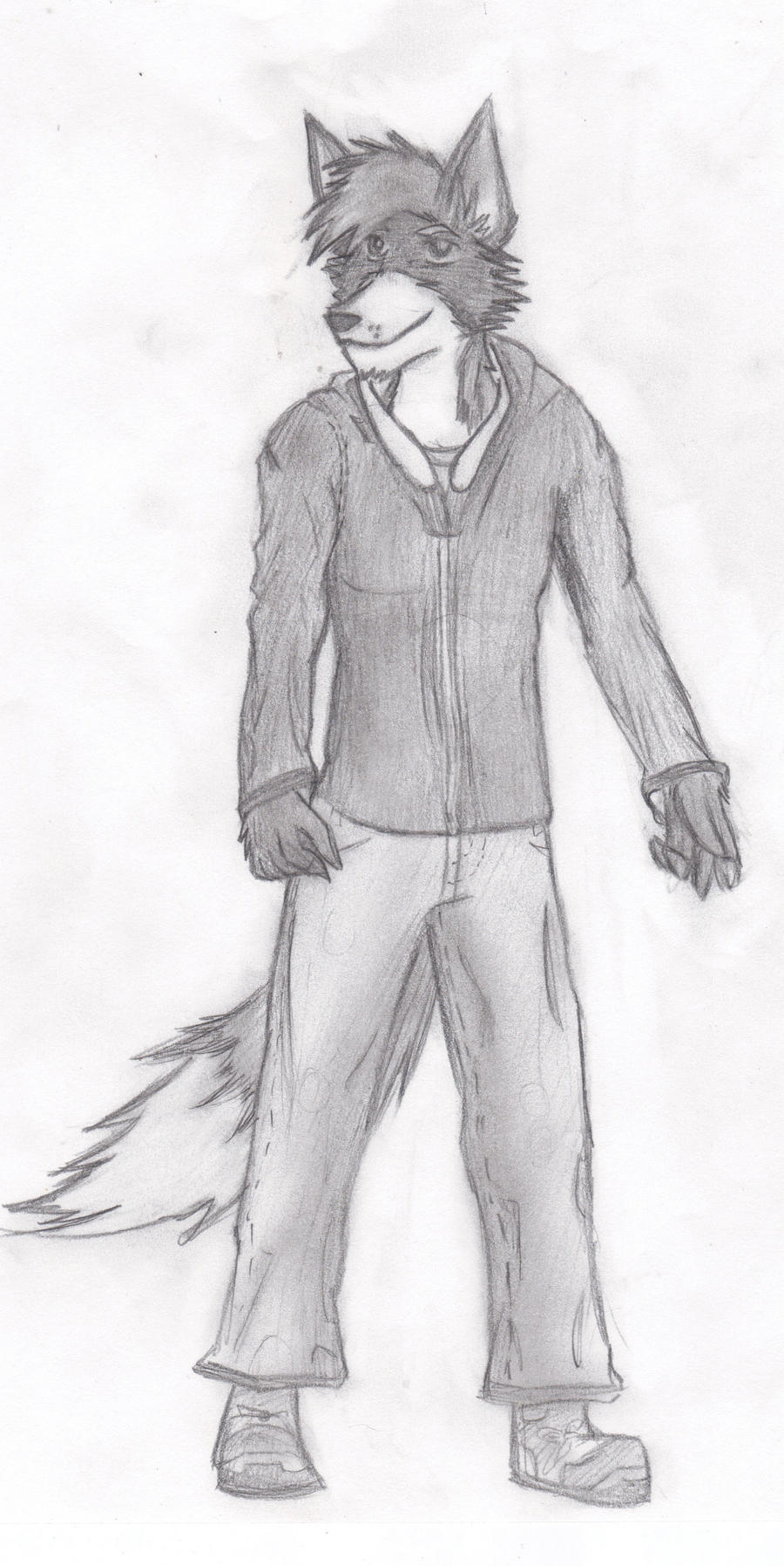 Starwolf sketch by KillerandLadyPawPaw