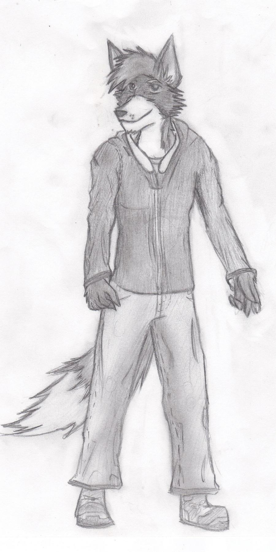 Starwolf sketch by KillerandLadyPawPaw