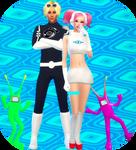 Sims 4 - SC5 Ulala xJaguar by AceL97