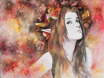 Persephone - portrait of Libby Dowell