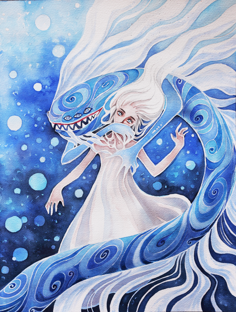 water demon by katethegreat19 on deviantart