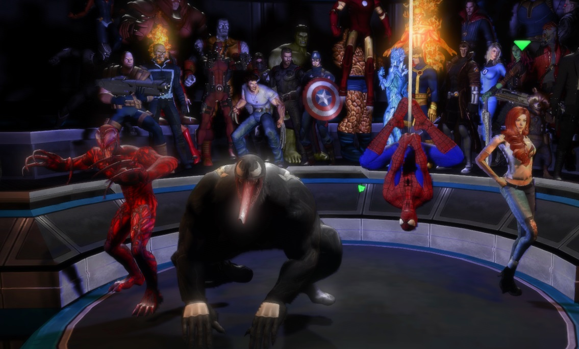 Marvel Ultimate Alliance Maximum Carnage By Artistropeadope On