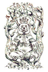Pine Throne by ullakko