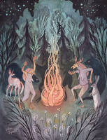 Bonfire by UllaThynell
