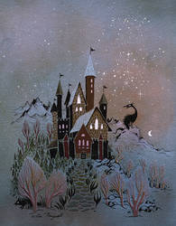 Magic Castle by UllaThynell