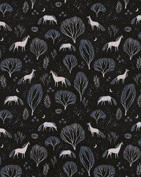 Midnight Garden pattern by ullakko