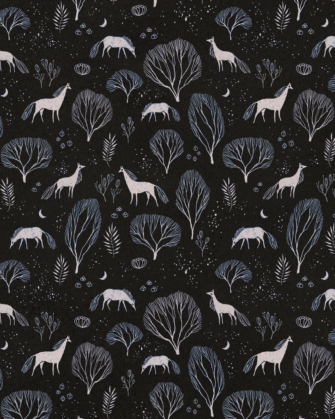Midnight Garden pattern