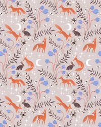 Fox Moon pattern by ullakko