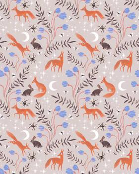 Fox Moon pattern