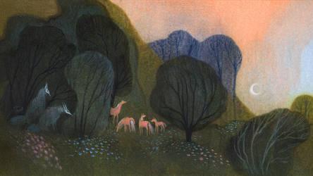 Garden Shadows by ullakko