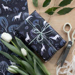 Midnight Garden wrapping paper