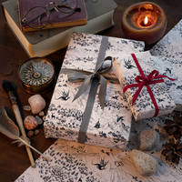Dragons of the Magic Land: wrapping paper