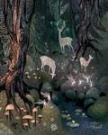 Wilderness (detail/WIP)