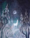 Snow Moon Unicorn