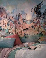 Dragon Hills wall tapestry