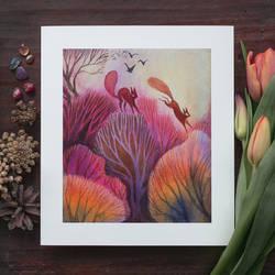 Red Squirrels prints